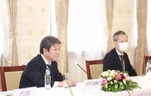 Ерөнхий сайд У.Хүрэлсүхэд Япон Улсын Гадаад хэргийн сайд Т.Мотэги бараалхлаа
