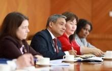 ЗГХЭГ-ын дарга Л.Оюун-Эрдэнэ НҮБ-ын Суурин зохицуулагч Тапан Мишраг хүлээн авч уулзлаа