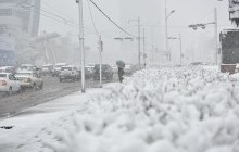 Улаанбаатар хотод цасан шуурга шуурна