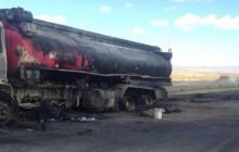 Бичигт боомт руу 60 тонн нефт ачиж явсан автомашин шатжээ