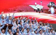 Хятадын агаарын хөлөг Ангараг гараг дээр амжилттай газардлаа