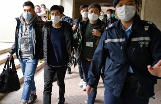 Хонконгт 50 хууль тогтоогчийг баривчилжээ