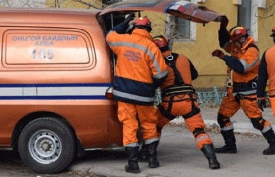 Аюулт үзэгдлийн улмаас хоёр хүн нас баржээ