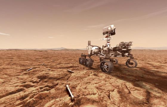 Ангараг гарагт газардсан