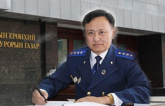 Баян-Өлгий аймгийн ерөнхий прокурор Т.БАТСҮХ гэмт хэрэгтнүүдээс АВЛИГА АВЧ, ХЭРГИЙГ НЬ  ХААДАГ УУ