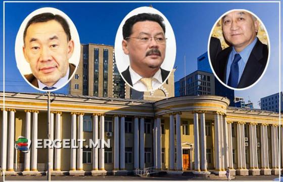 Гаднын улсад Монгол Улсыг төлөөлөн суухдаа хэрэгт холбогдсон Элчин сайд, консулын газрын алба хаагчид