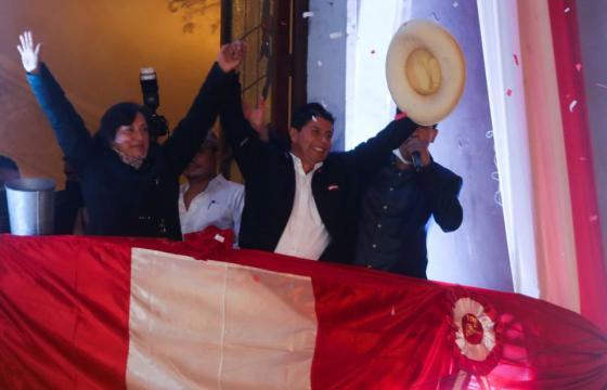 Социалист Педро Кастилло Перу Улсын Ерөнхийлөгч болно