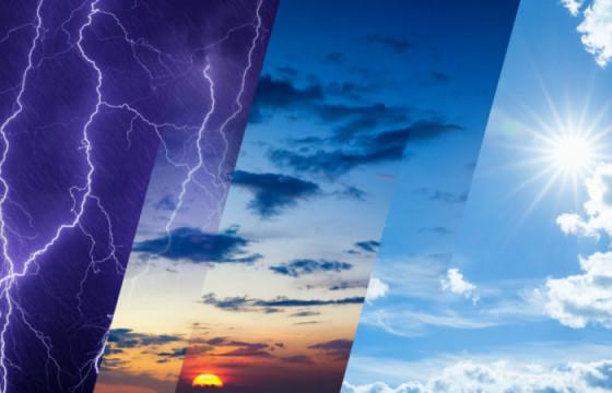 Өнөөдөр ихэнх нутгаар үүлэрхэг, шөнөдөө зарим нутагт дуу цахилгаантай бороо орно