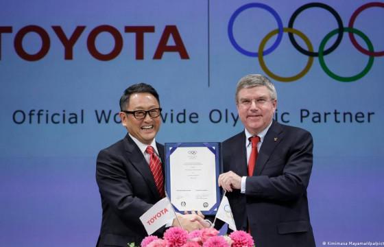 """""""Тоёота Моторс"""" корпораци """"Токио-2020"""" олимпын наадмыг ивээн тэтгэхээс татгалзав"""
