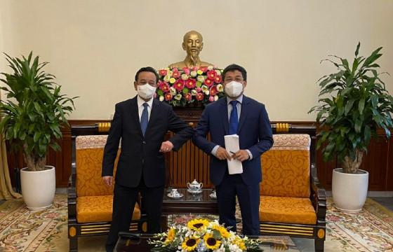 Вьетнамын зах зээлд Монголын хөлдөөсөн мах, коксжсон болон эрчим хүчний нүүрс нийлүүлэхээр тохирчээ
