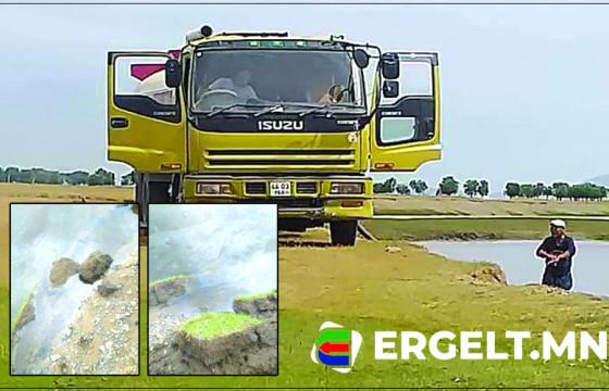 Э.БААСАНЖАВ: Дизель түлшээ голд шавхсан жолоочийг илрүүлэхээр ажиллаж байна