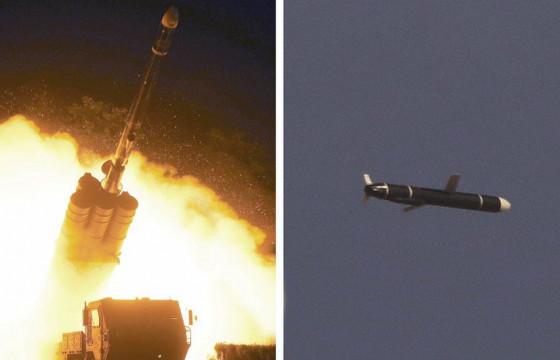 Хойд Солонгос шинэ төрлийн холын тусгалтай пуужингийн туршилт хийжээ